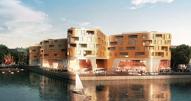 Architekten In Mainz siegerentwurf hafenkai gekürt zollhafen mainz