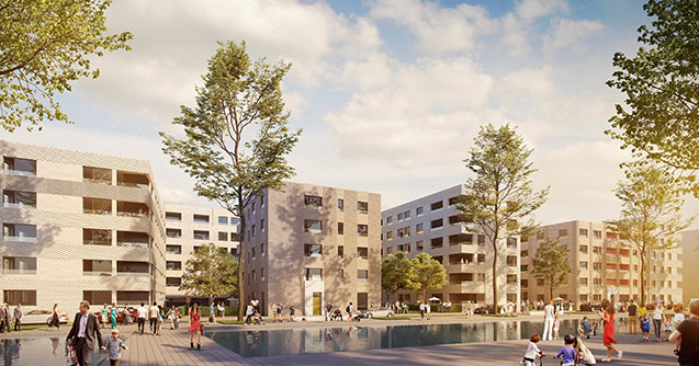 Gefördert Schöner Wohnen Zollhafen Mainz