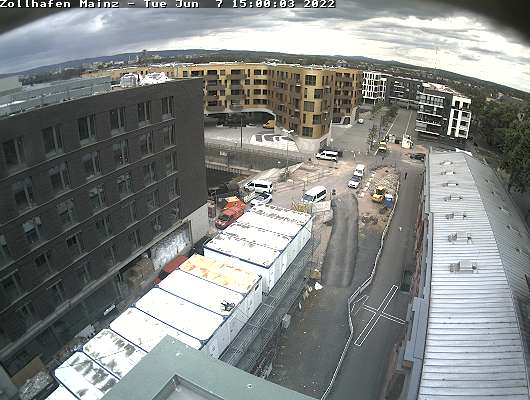 Mainz Zollhafen (Customs Port)